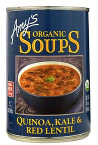 Quinoa Kale & Red Lentil 12 of 14.4 OZ By AMY`S