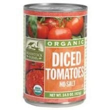 Diced No Salt 12 of 14.5 OZ From WOODSTOCK