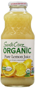 Lemon, 12 of 16 OZ, Santa Cruz Organics