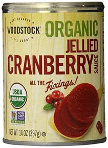 Cranberry Sauce Jellied 24 of 14 OZ By WOODSTOCK