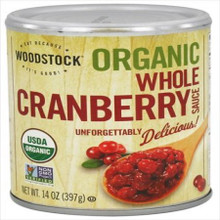 Cranberry Sauce Whole 24 of 14 OZ By WOODSTOCK