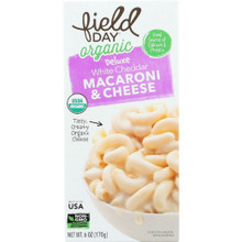 White Cheddar Mac & Cheese 12 of 6 OZ By FIELD DAY