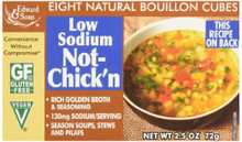 Not Chicken Low Sodium 12 of 2.5 OZ By EDWARD & SONS