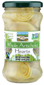 Artichoke Hearts Whole 6 of 9.8 OZ By MORE THAN FAIR