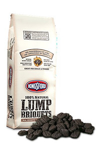100% Natural Lump Briquets 10.6 LB By KINGSFORD