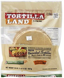 Corn Uncooked 14 CT 12 of 20 OZ From TORTILLA LAND