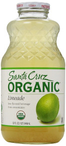 Limeade, 12 of 32 OZ, Santa Cruz Organic