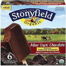 Bar After Dark Chocolate 6 Pack 6 Pack 3 OZ STONYFIELD FARM