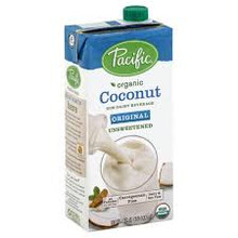 Coconut,Original,Unsweetened 12 of 32 OZ By PACIFIC NATURAL FOODS