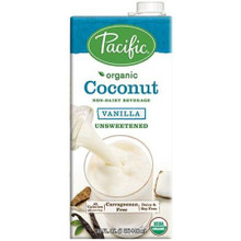 Coconut,Vanilla,Unsweetened 12 of 32 OZ By PACIFIC NATURAL FOODS