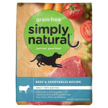 Beef & Vegetables Recipe 12 LB By SIMPLY NATURAL