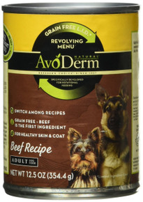 Beef Recipe 12 of 12.5 OZ By AVODERM NATURAL