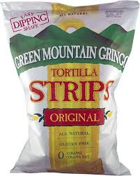 Tortilla Strips 12 of 8 OZ Green Mountain Gringo