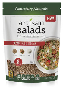 Couscous Caprese Salad 6 of 8 OZ By CANTERBURY NATURALS