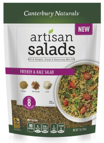 Freekeh & Kale Salad 6 of 7 OZ By CANTERBURY NATURALS