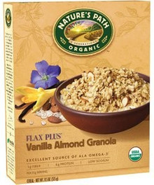 Vanilla Almond Flax + 25 LB From NATURE`S PATH