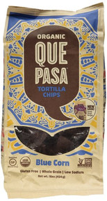 Blue Corn 12 of 16 OZ By QUE PASA