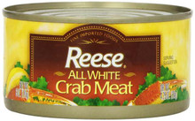 All White Crabmeat 12 of 6 OZ REESE