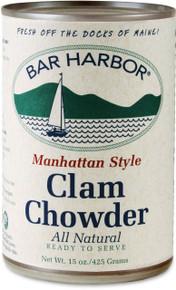 Chowder Manhattan Clam 6 of 15 OZ By BAR HARBOR