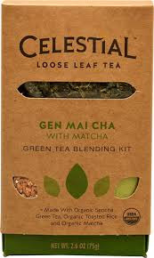 Loose Leaf Gen Mai Cha 6 of 2.6 OZ By CELESTIAL SEASONINGS