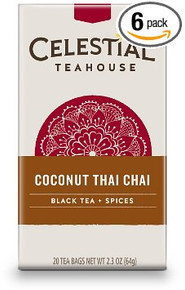 Coconut Thai 6 of 20 BAG By CELESTIAL SEASONINGS