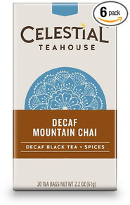 Mountain Decaf 6 of 20 BAG By CELESTIAL