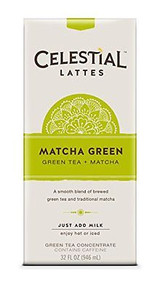 Latte Conc Matcha Green 6 of 32 OZ By CELESTIAL