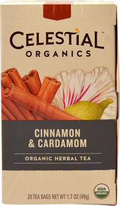 Cinnamon & Cardamom 6 of 20 BAG By CELESTIAL SEASONINGS