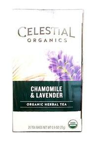 Chamomile Lavender 6 of 20 BAG By CELESTIAL SEASONINGS