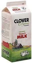 Vitamin D 6 of 64 OZ CLOVER ORGANIC FARMS