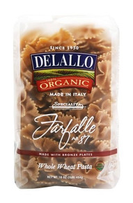 Farfalle #87 Whole Wheat 16 of 16 OZ From DE LALLO