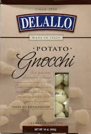 Potato Gnocchi 12 Pack 16 oz (454 g) From De Lallo