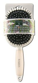 Softgrip Grooming Paddle White 1 CT By EARTH THERAPEUTICS LTD.