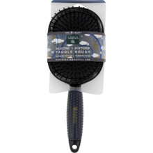 Softgrip Grooming Paddle Black 1 CT By EARTH THERAPEUTICS LTD.