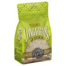 Long Grain Brown Rice Gluten Free 12 Pack 32 oz (907 g) From Lundberg