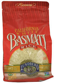 California White Basmati Rice Gluten Free 12 Pack 32 oz (2 lb) 907 g From Lundberg