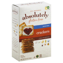 Crackers Original 12 of 4.4 OZ By ABSOLUTELY GLUTEN FREE