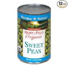 Peas Sweet Garden 12 of 15 OZ By WESTBRAE