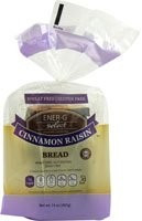 Cinnamon Raisin 6 of 14 OZ From ENER-G FOODS