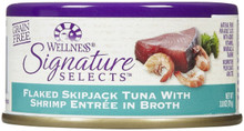 Flkd Skpjck Tuna/Shrimp in Broth 24 of 2.8 OZ From WELLNESS
