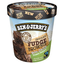 Chocolate Fudge Brownie 8 of PINT By BEN & JERRY`S
