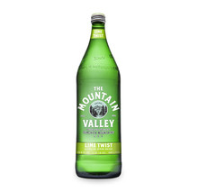 Sparkling Lime 12 of 1 LTR By MOUNTAIN VALLEY SPRING WATER