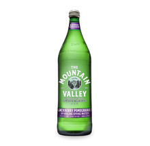 Sparkling Blackberry Pomegrante 12 of 1 LTR By MOUNTAIN VALLEY SPRING WATER