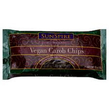 Carob Chips Vegan 25 lb Sunspire