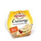 Creamy Gourmet Spreadable Brie 8 of 5 OZ By PRESIDENT