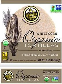 White Corn & Wheat 6 Count 10 of 8.68 OZ By LA TORTILLA FACTORY