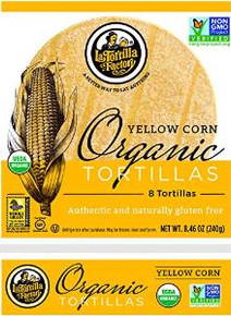 Yellow Corn 8 Count 10 of 8.46 OZ By LA TORTILLA FACTORY