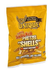 Shocked Shells Honey Mustard 24 of 2 OZ From UNIQUE PRETZELS