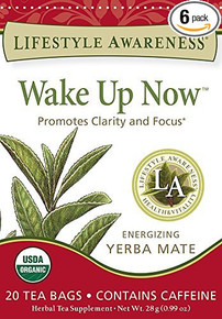 Wake Up Now Tea 6 of 20 BAG By LIFESTYLE AWARENESS