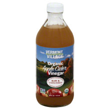 Apple Cider Vinegar 6 of 16 OZ By VERMONT VILLAGE